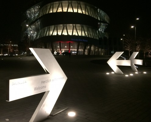 Social Media Night im Mercedes-Benz Museum